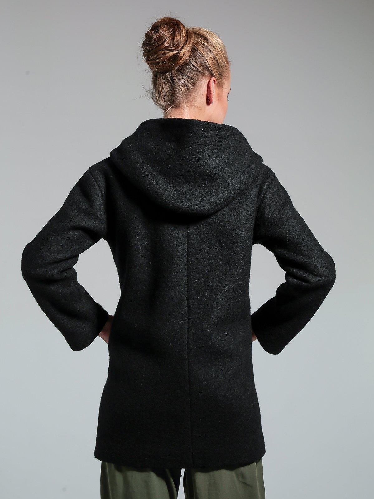 Пальто чорне | 1891326 | фото 3