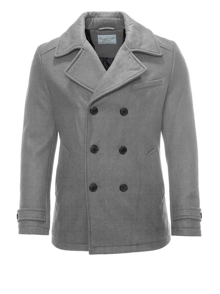 Пальто світло-сіре | 2252372