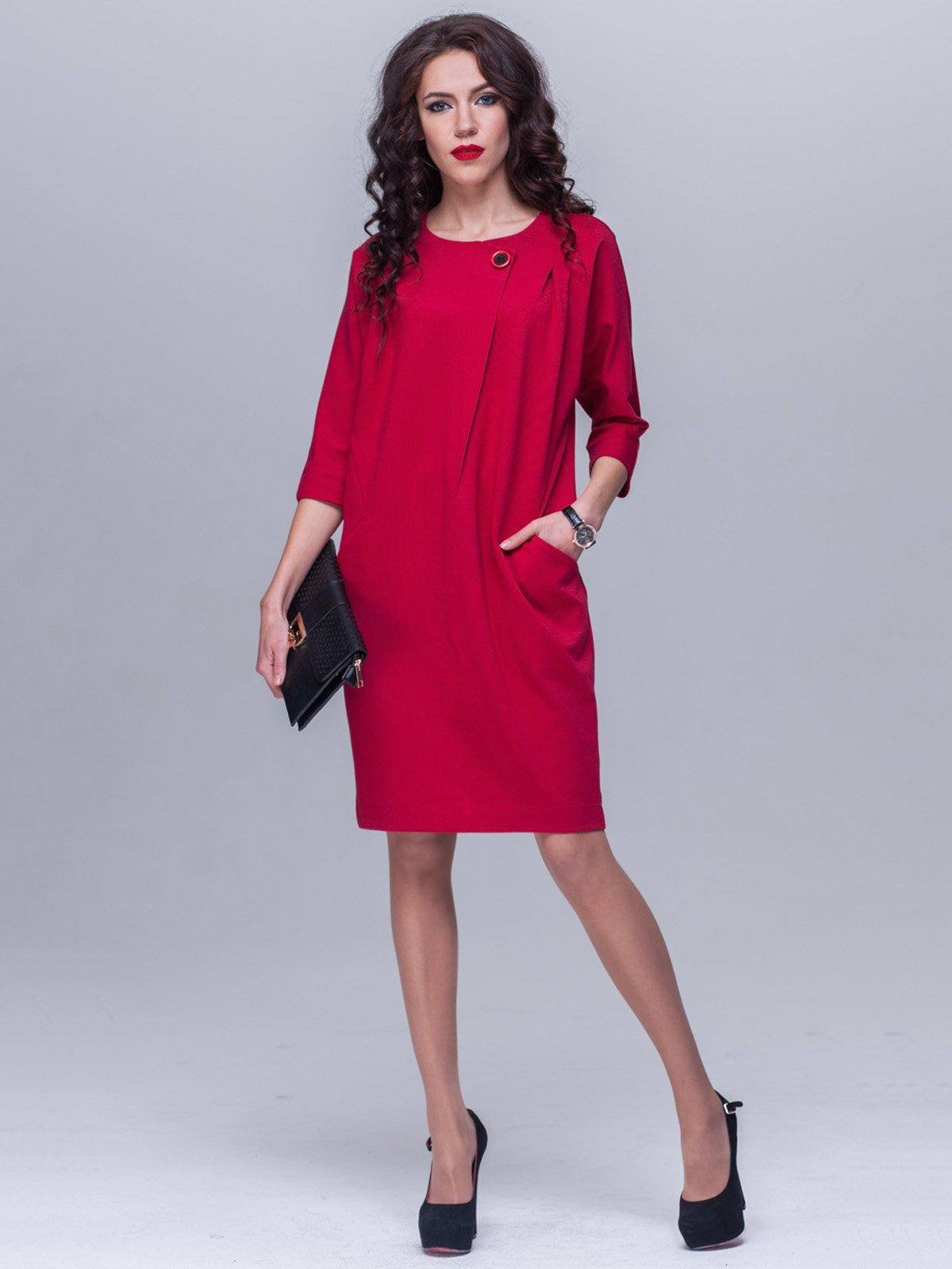 Платье кирпичного цвета | 2611709