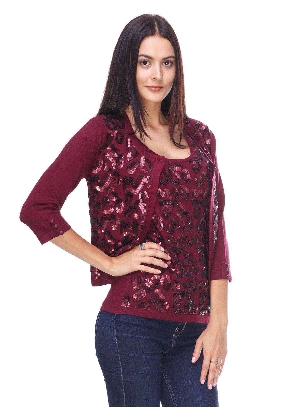 Комплект: болеро и блуза | 2619461