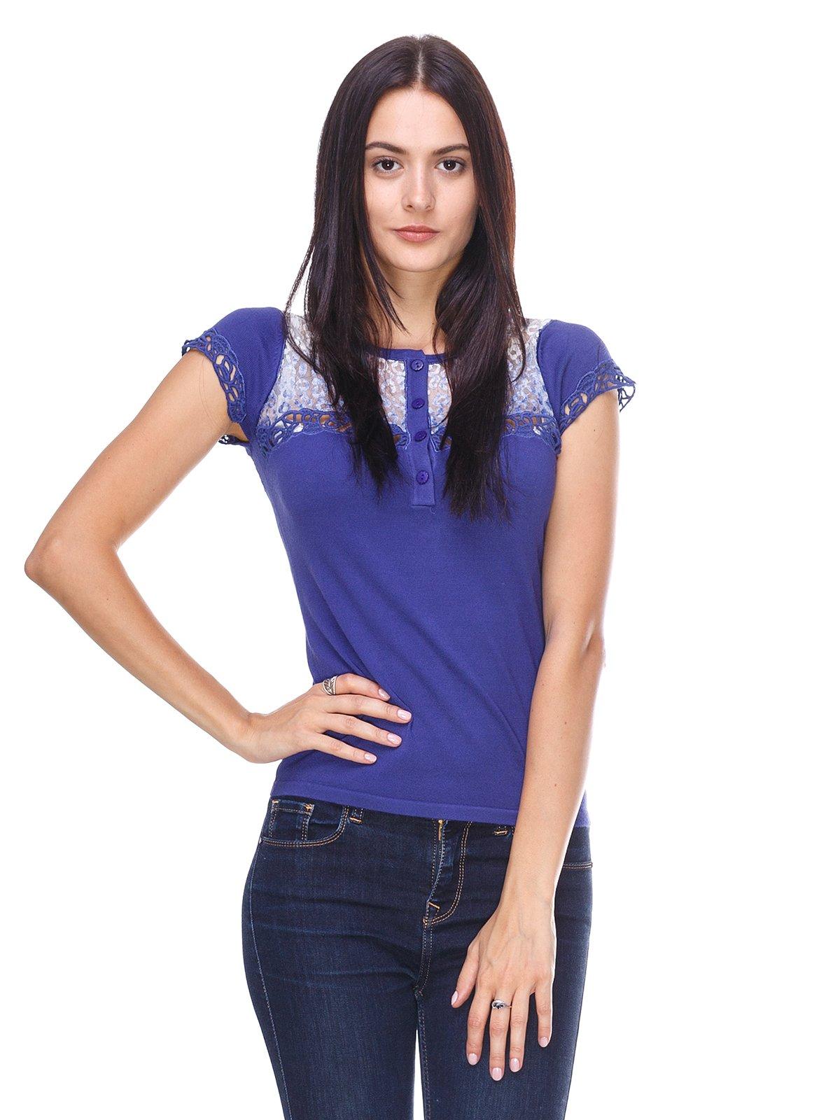 Блуза синя | 2316644