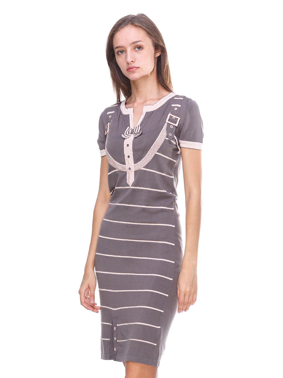 Сукня сіра в смужку   2619391