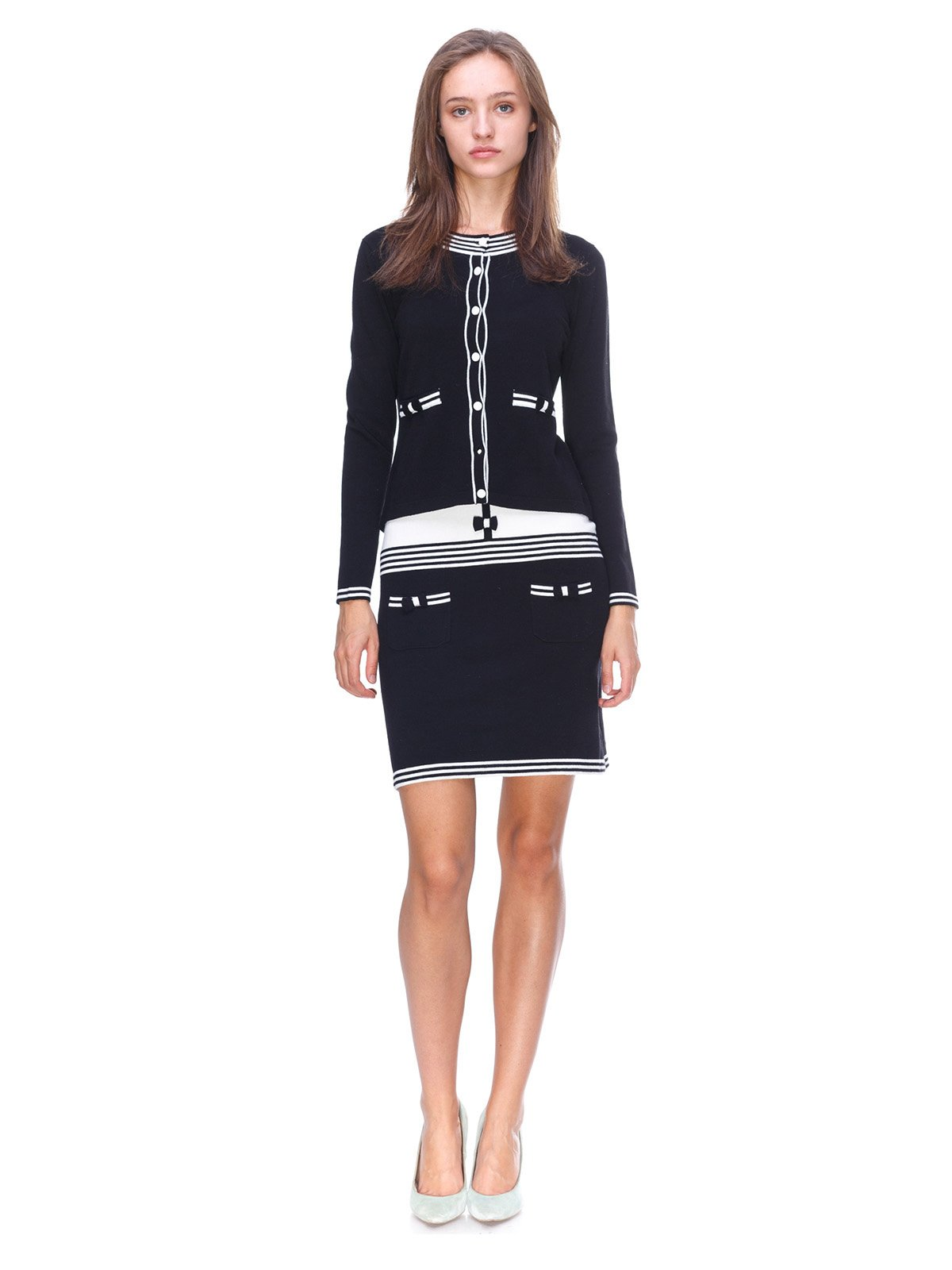 Комплект: кофта и платье | 2619555
