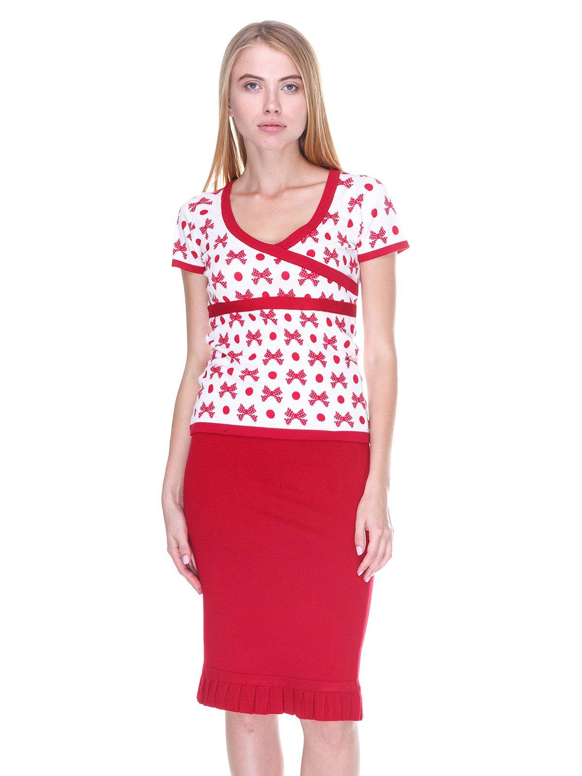 Комплект: блуза і спідниця | 2619292