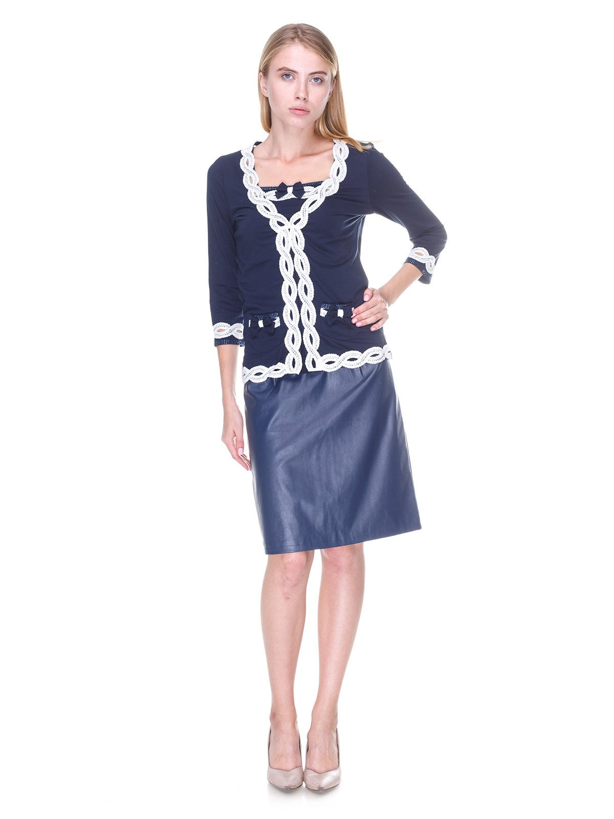 Комплект: кофта і блуза | 2316603