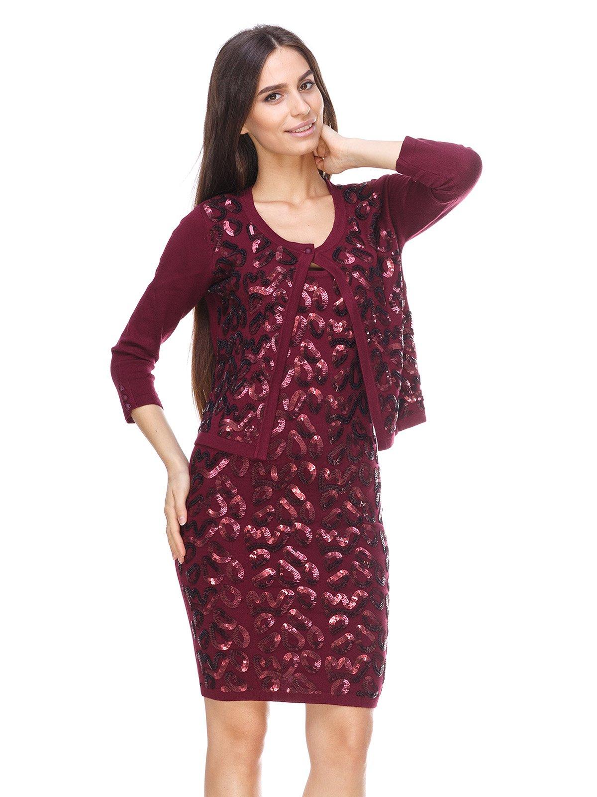 Комплект: болеро і сукня | 2619460