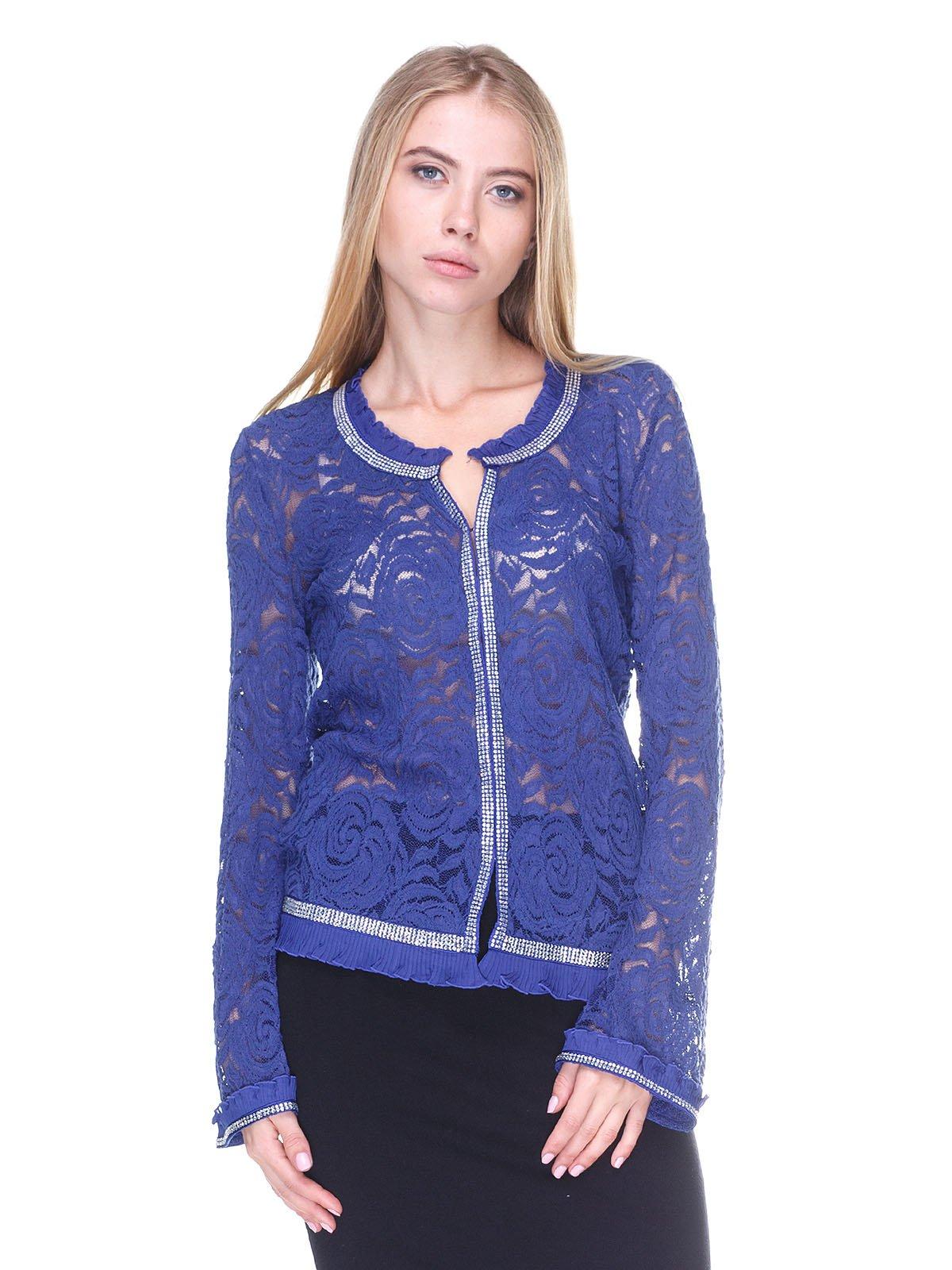 Блуза синяя | 2635340