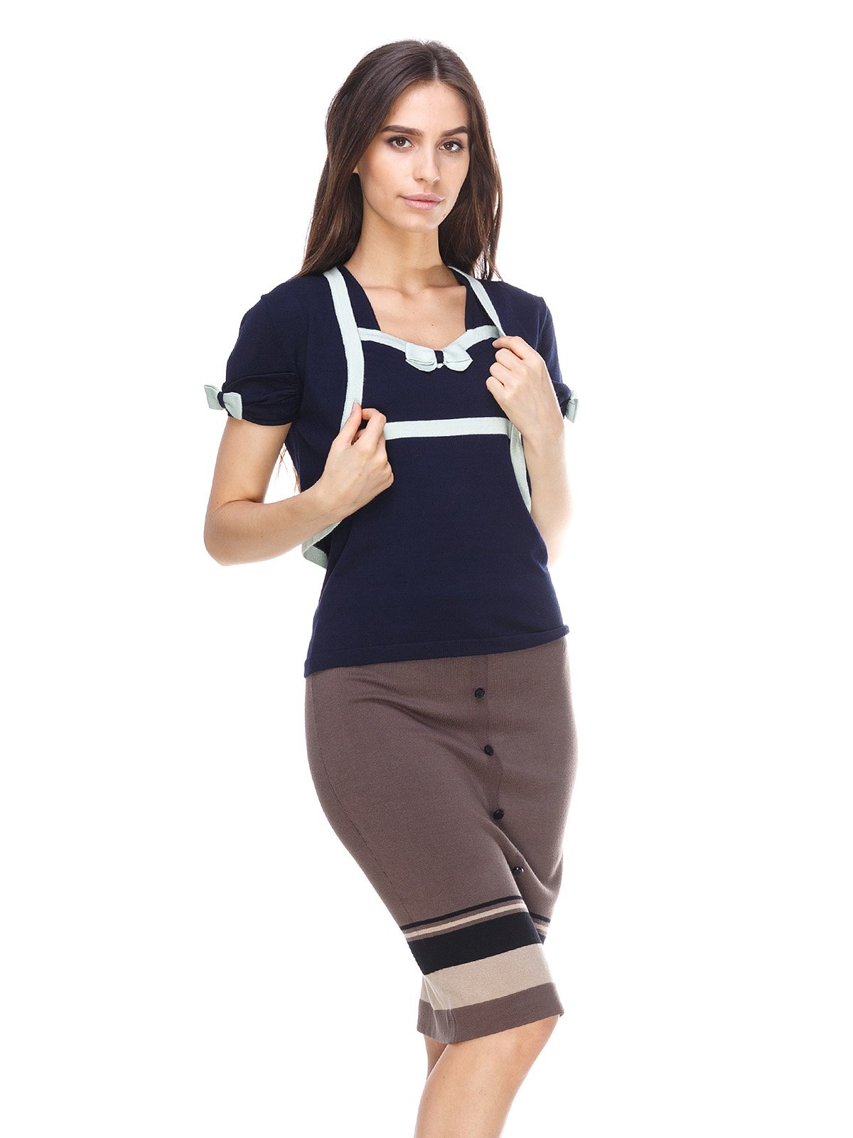 Комплект: болеро і блуза | 2316576
