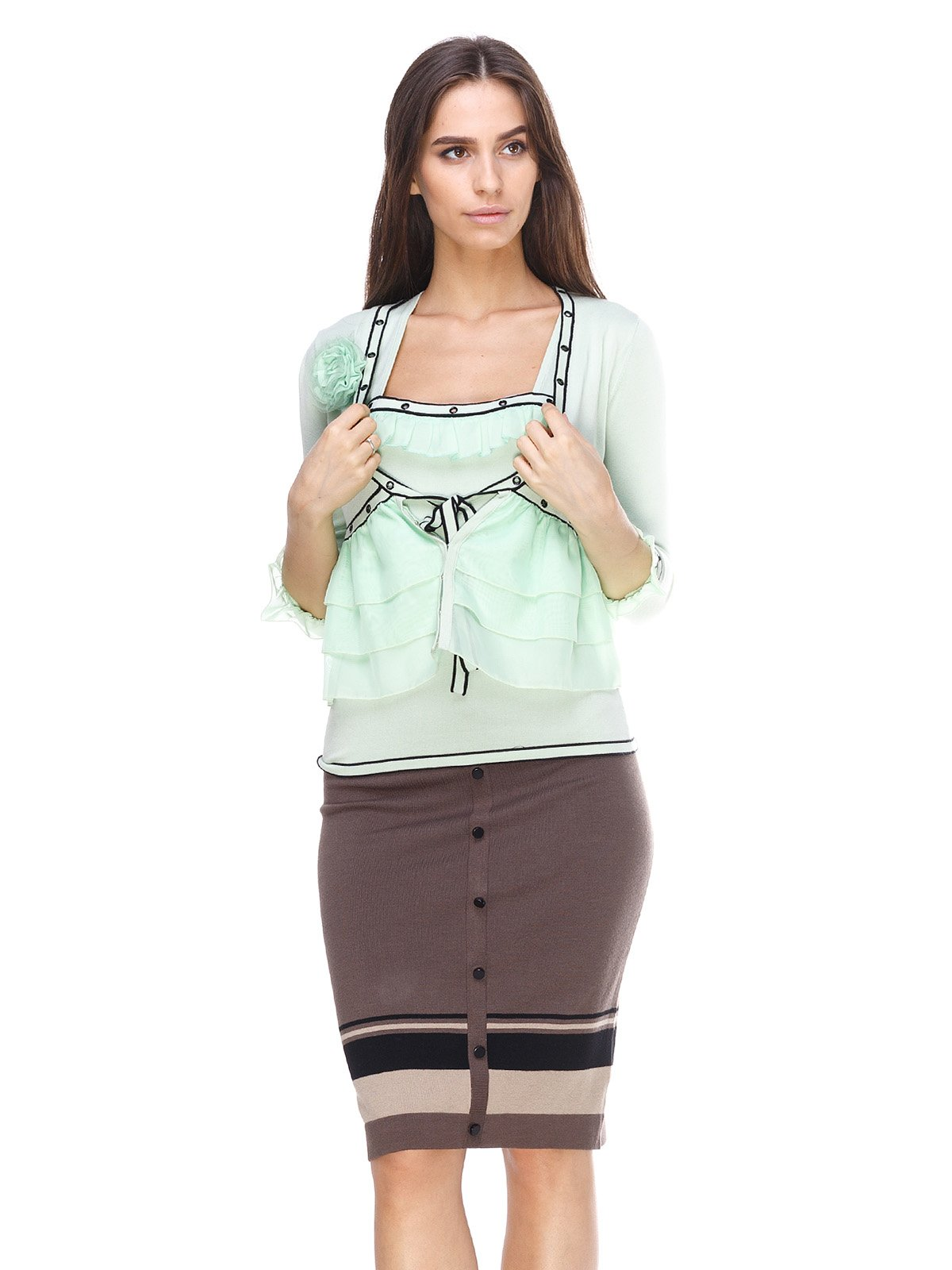 Комплект: кофта і блуза | 2316640