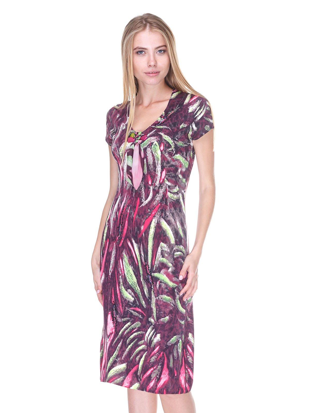 Платье абстрактной расцветки | 2302513