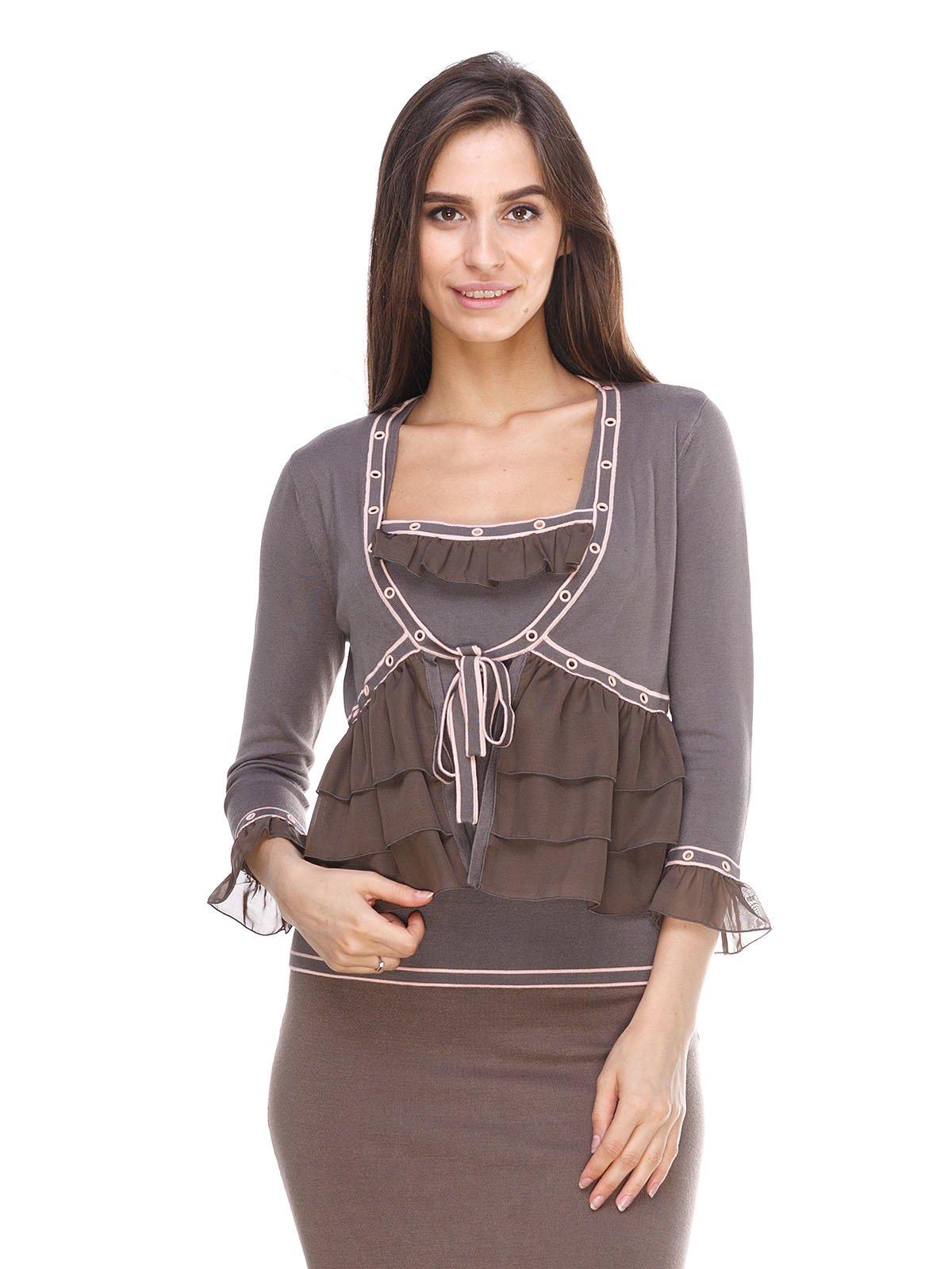 Комплект: кофта і блуза | 2316642