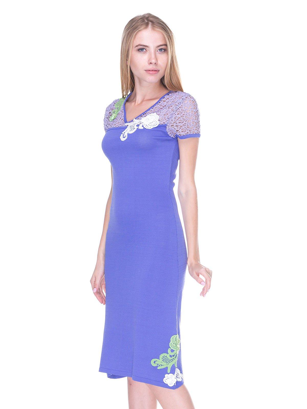 Платье фиолетовое | 2480982