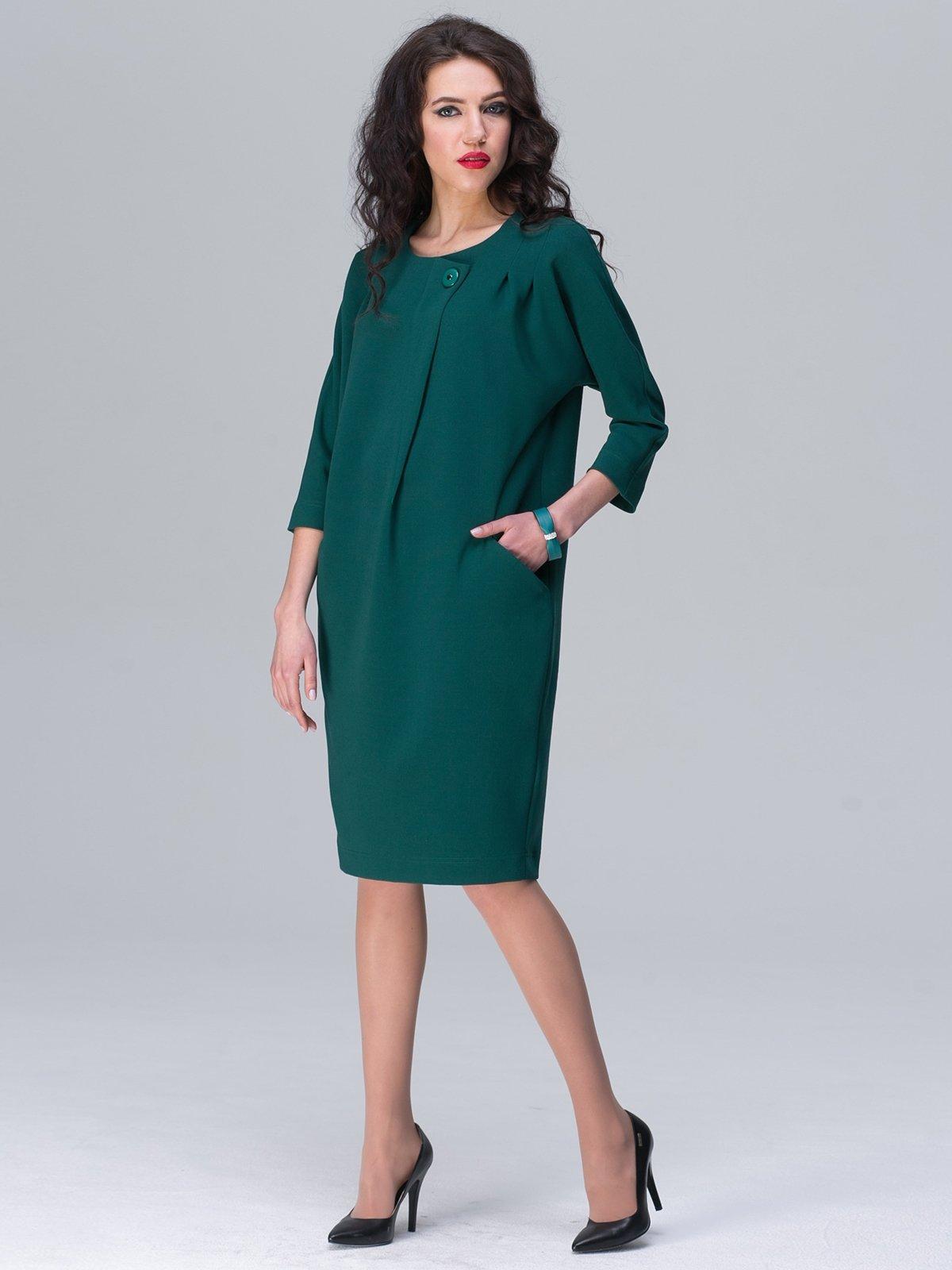 Платье зеленое | 2645445