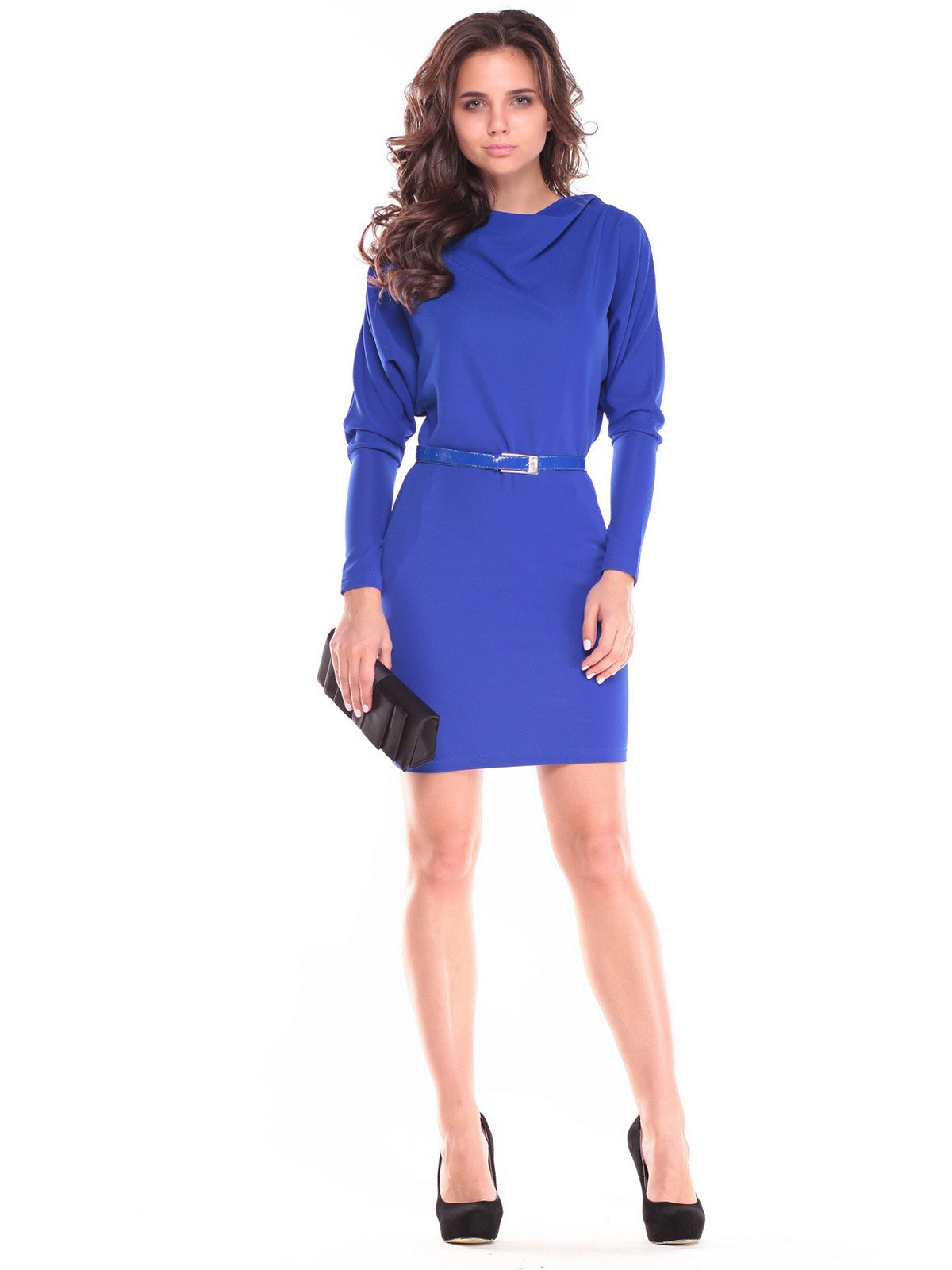 Сукня кольору електрик | 2646858