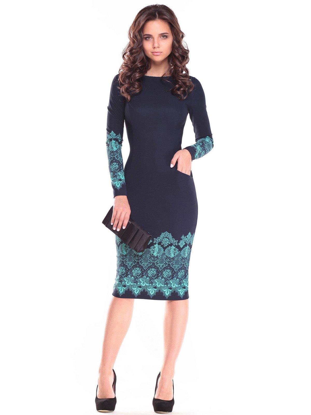 Сукня з принтом | 2646866