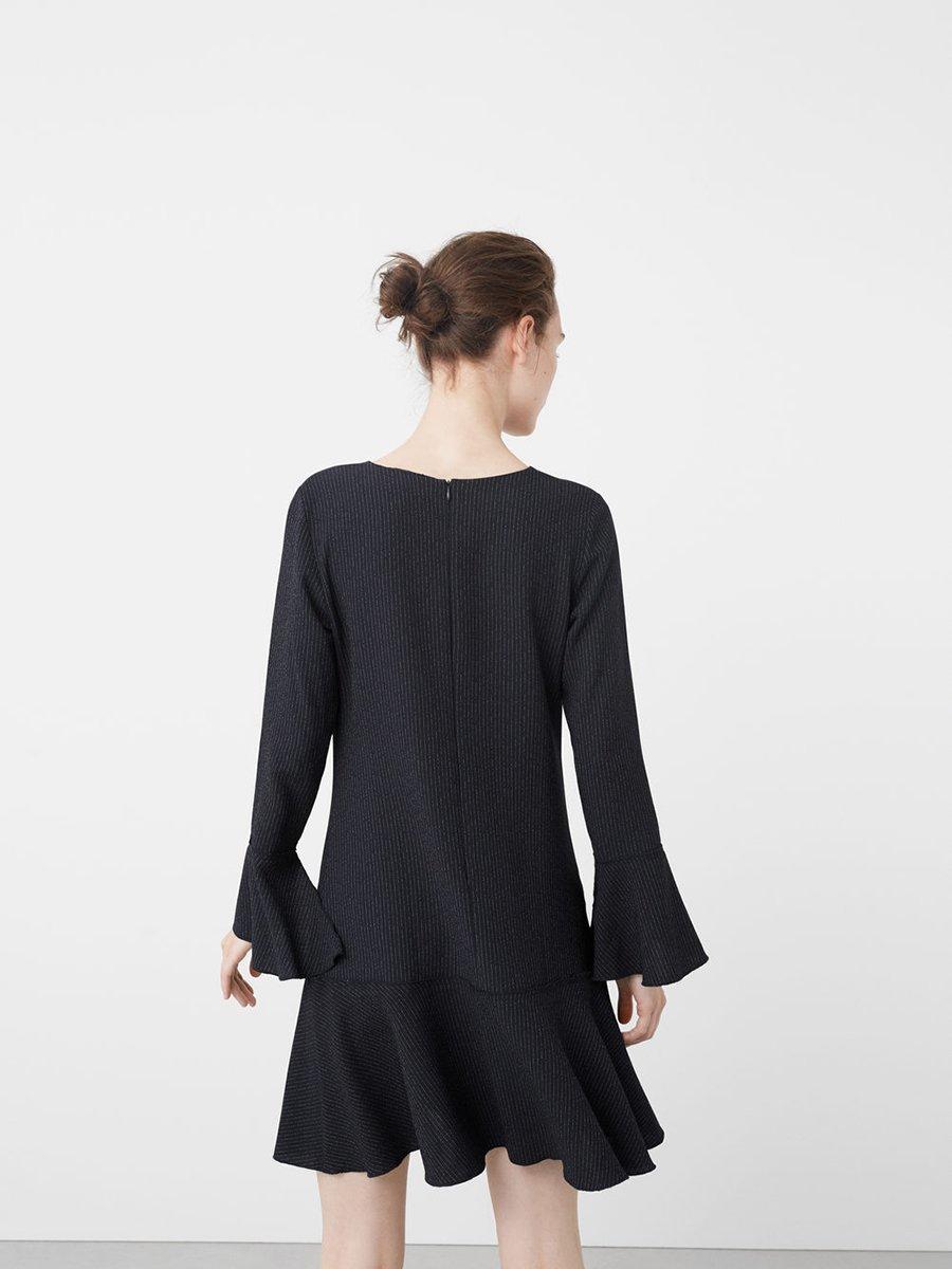 Платье темно-синее в полоску   2636672   фото 3