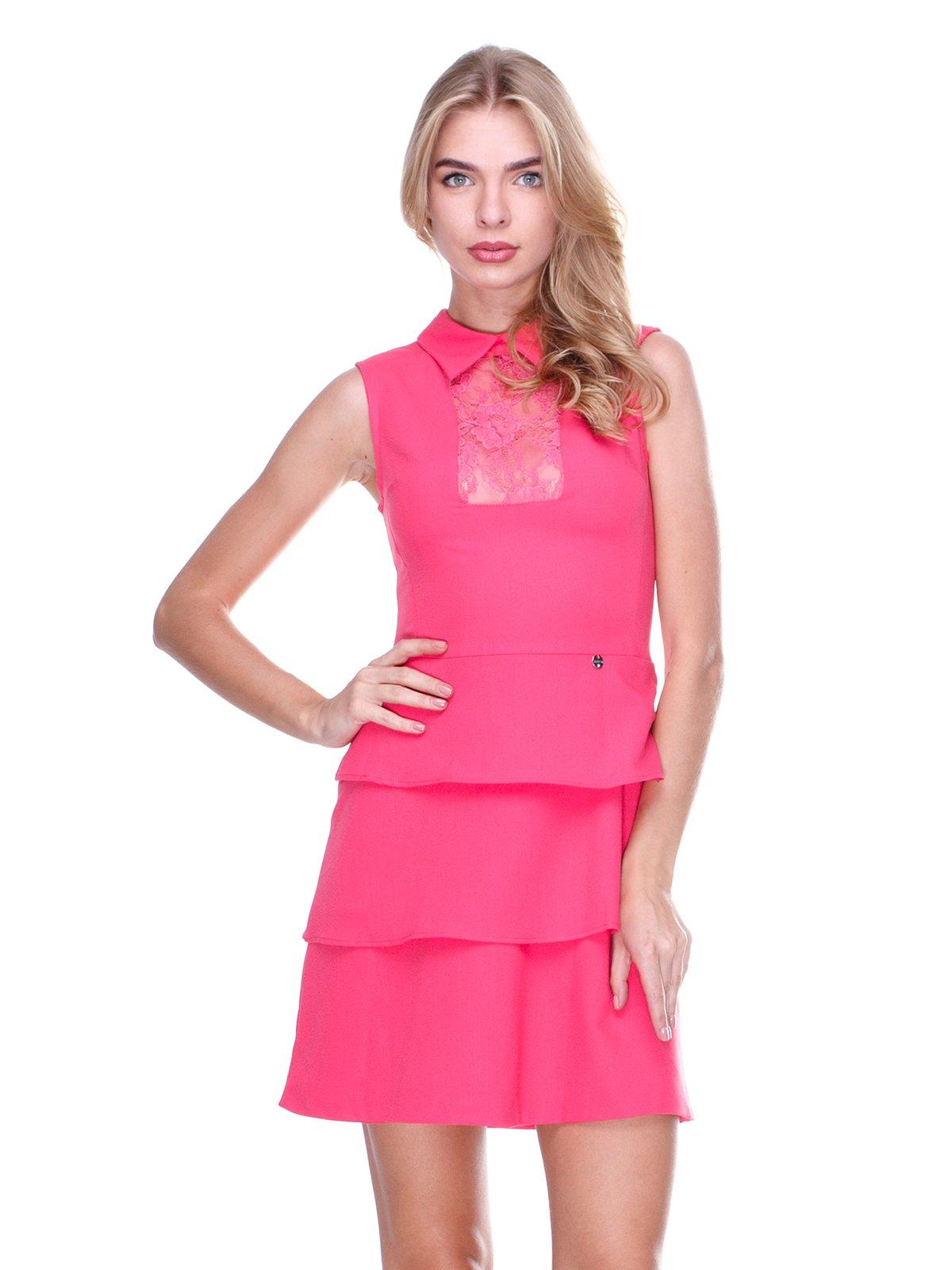 Платье коралловое | 2638558