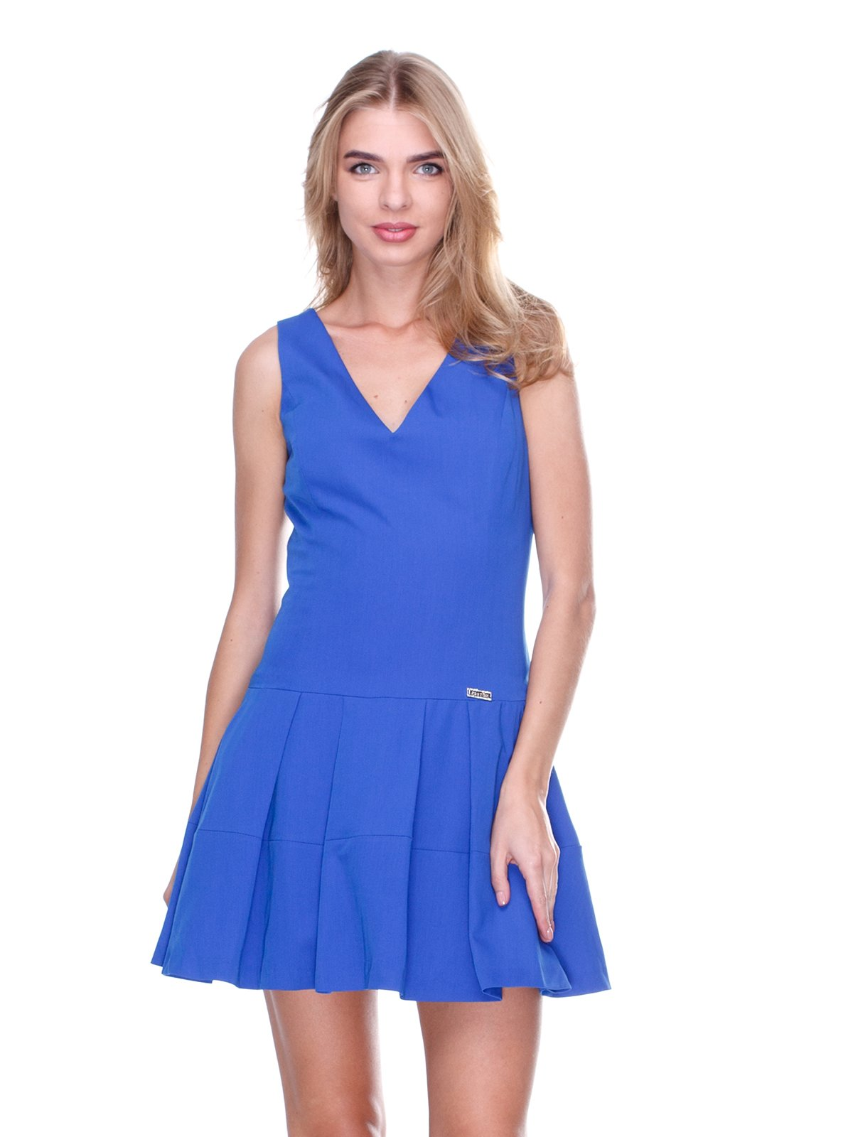 Платье ярко-синее | 2638561