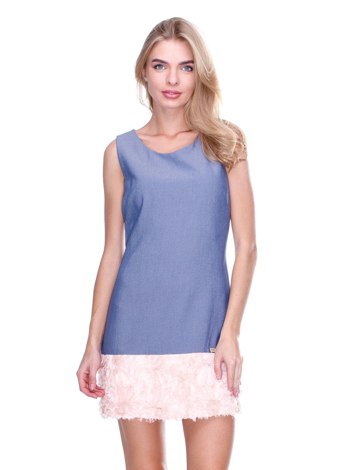 Платье двухцветное | 2638580