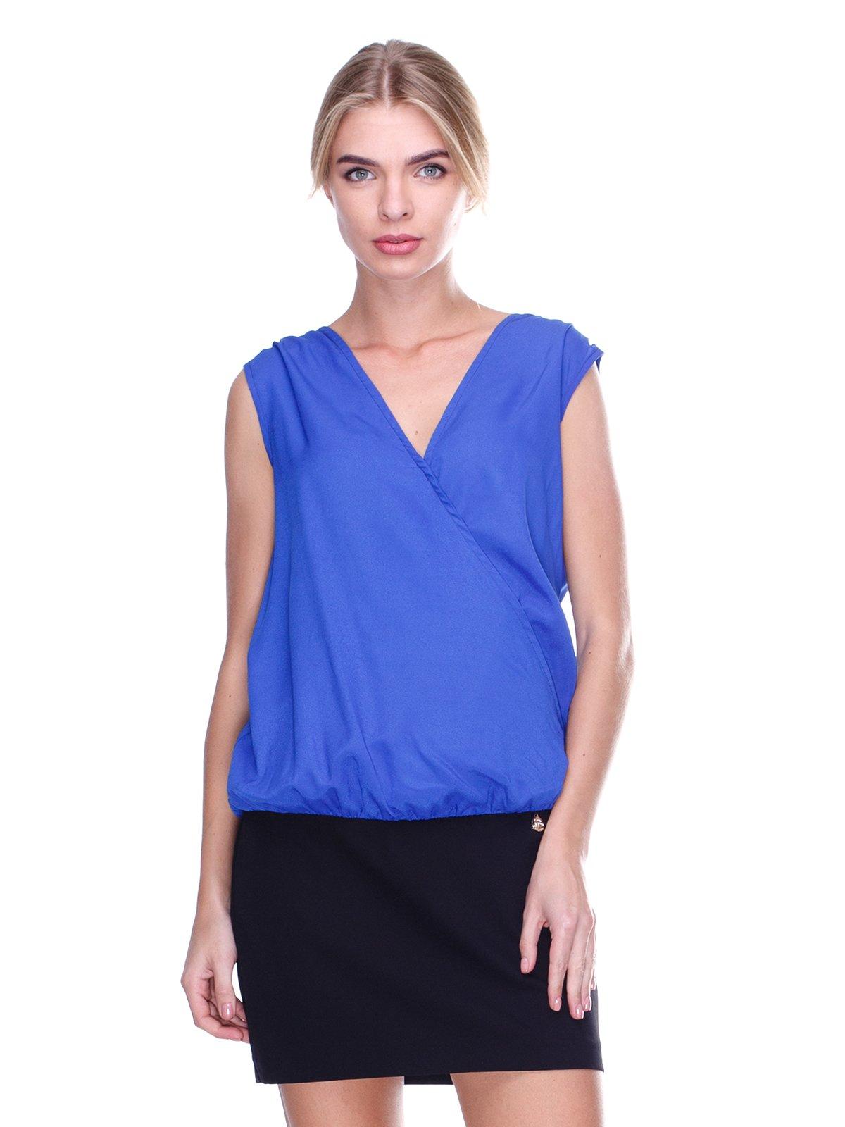 Платье сине-черное | 2638527