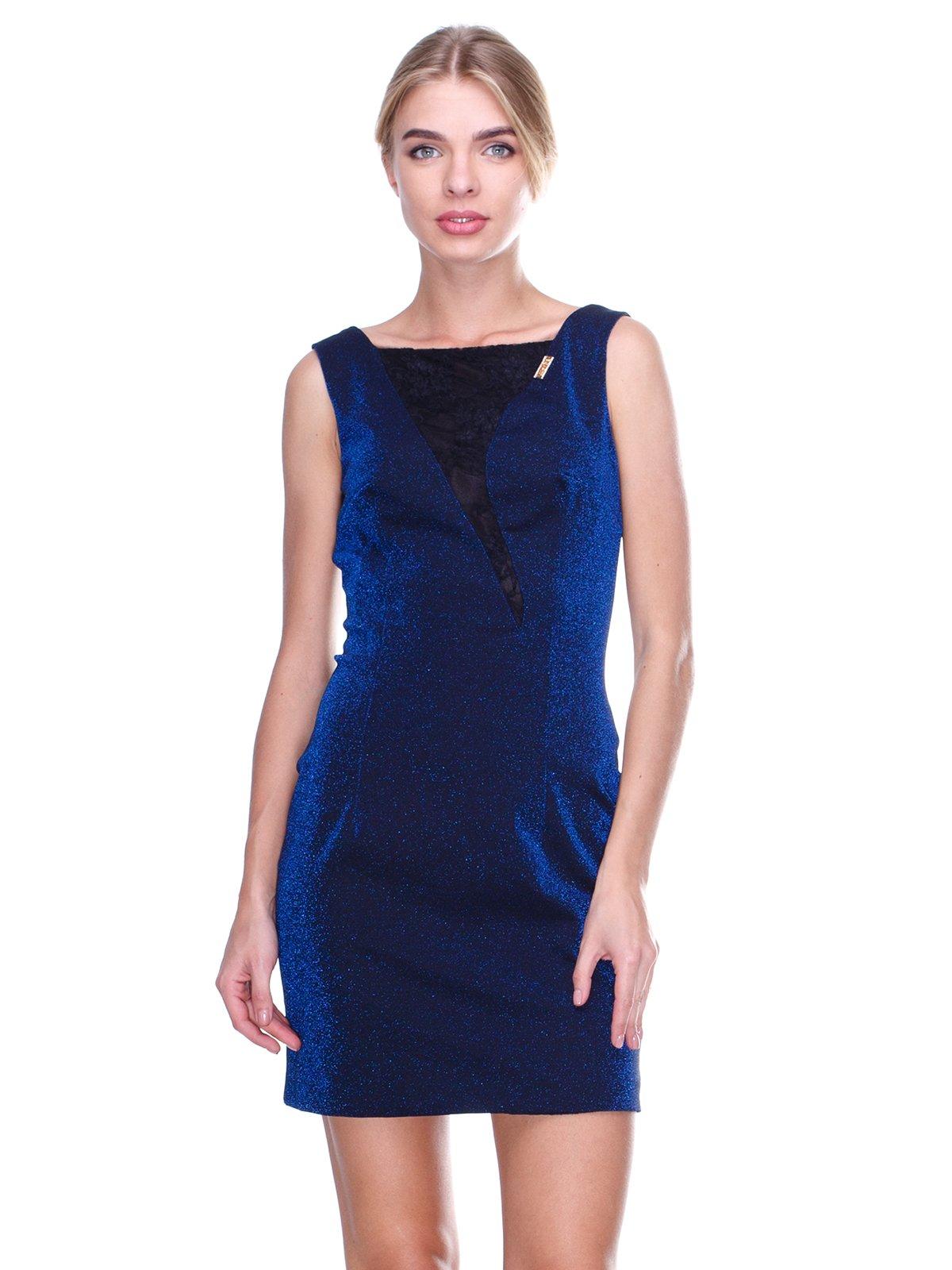 Платье синее | 2638612