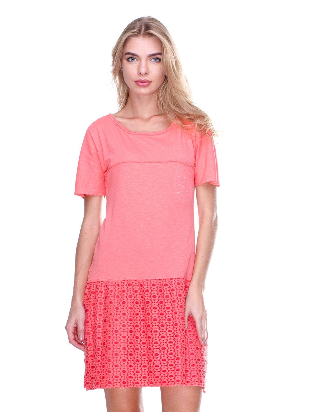 Платье коралловое | 2638505