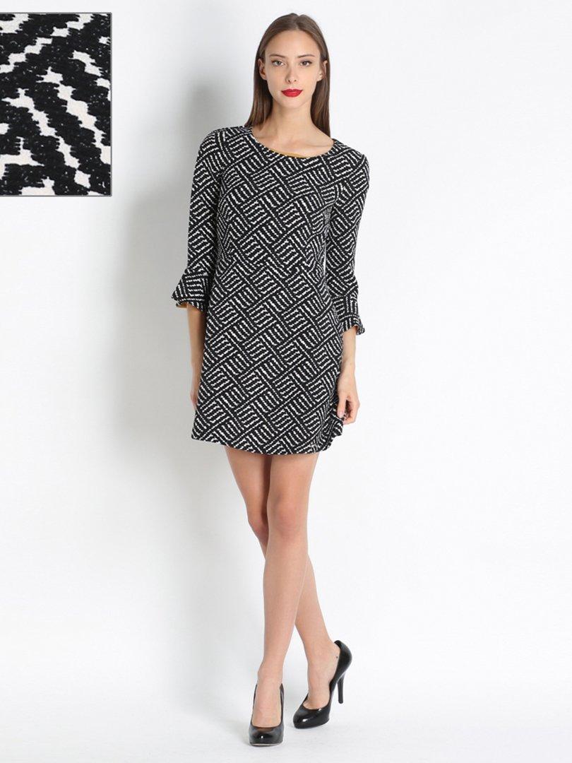 Платье черно-белое | 2660651