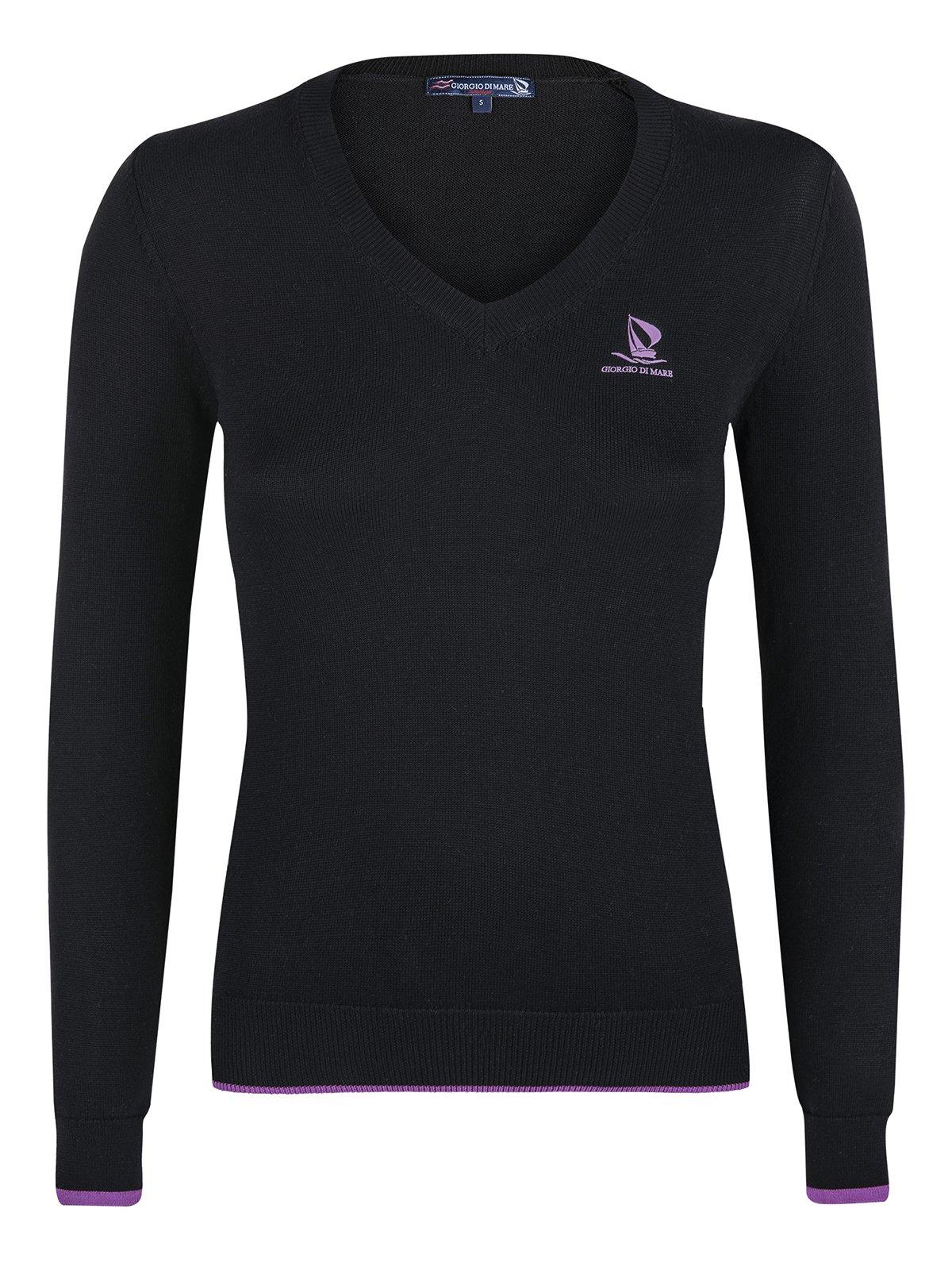 Пуловер черный | 2658814