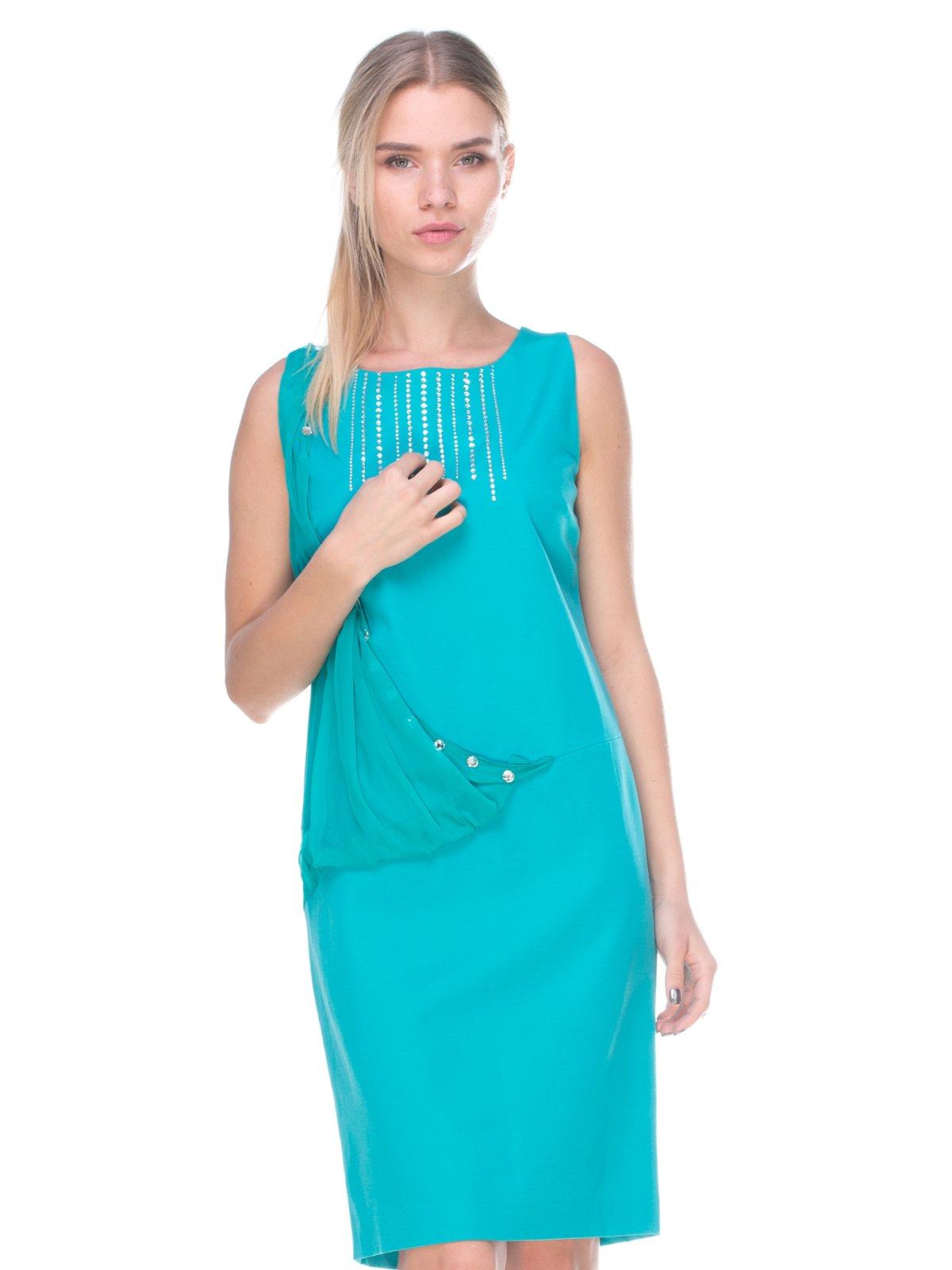 Сукня бірюзова | 2434103