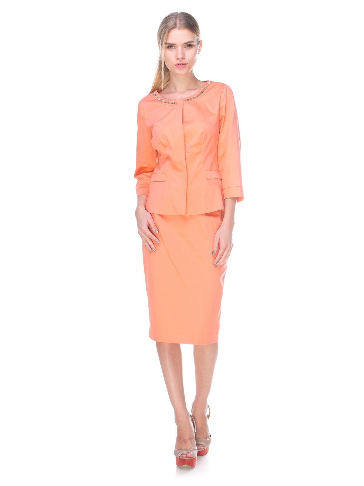 Костюм: жакет и юбка | 2590991
