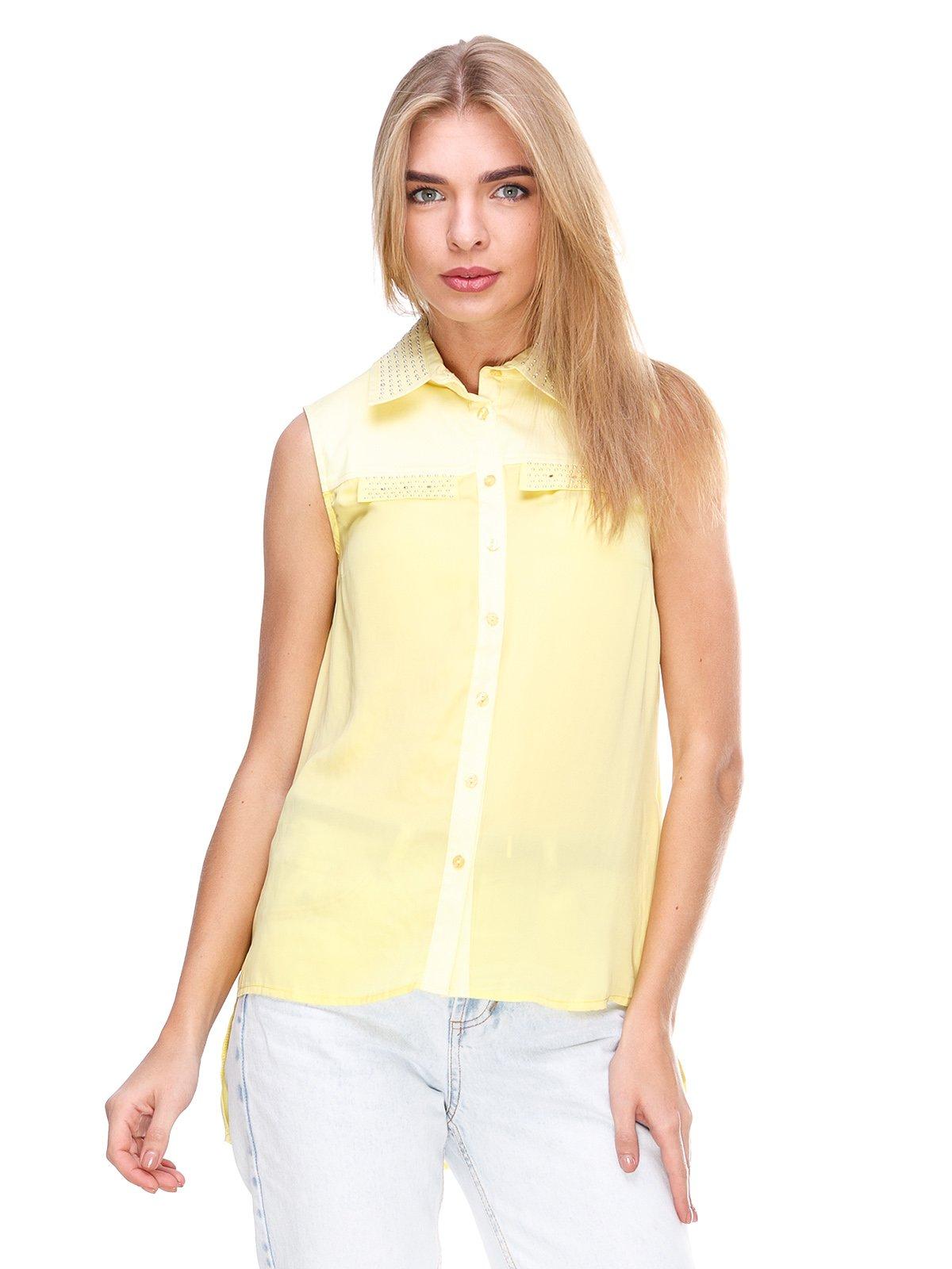 Блуза желтая   2645159