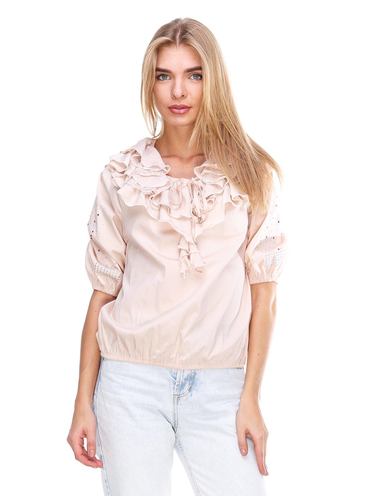 Блуза персикового цвета | 2645147