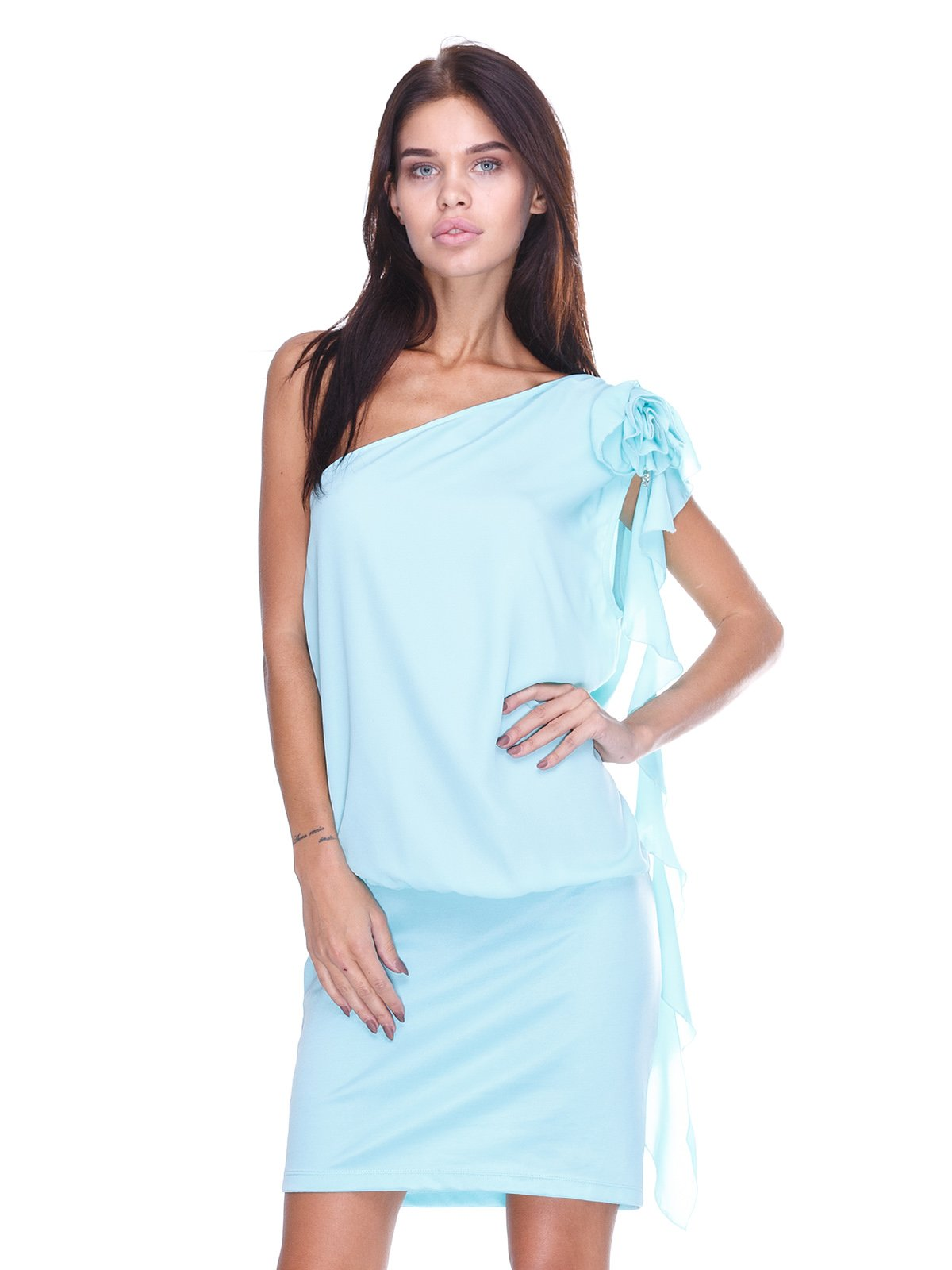 Платье голубое | 2638497
