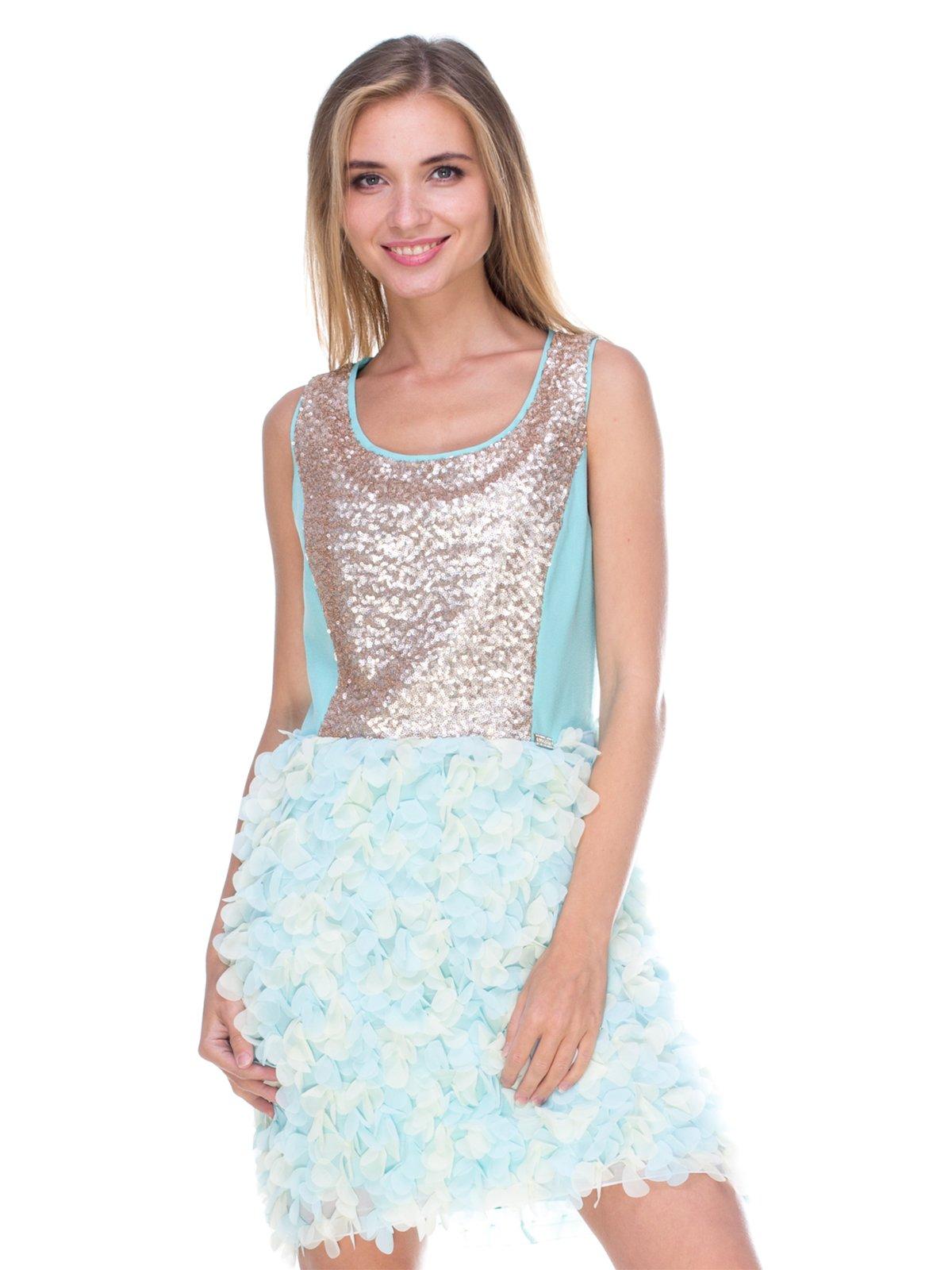 Платье голубое | 2638618