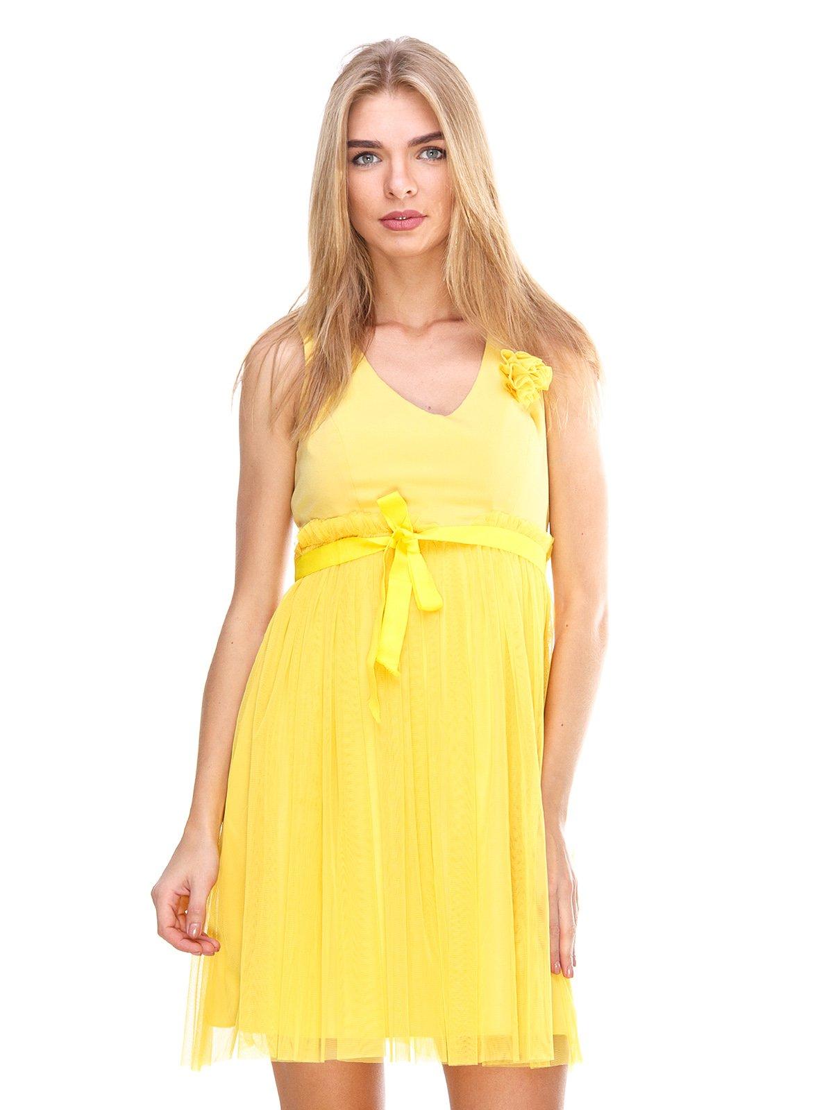 Платье желтое   2638682