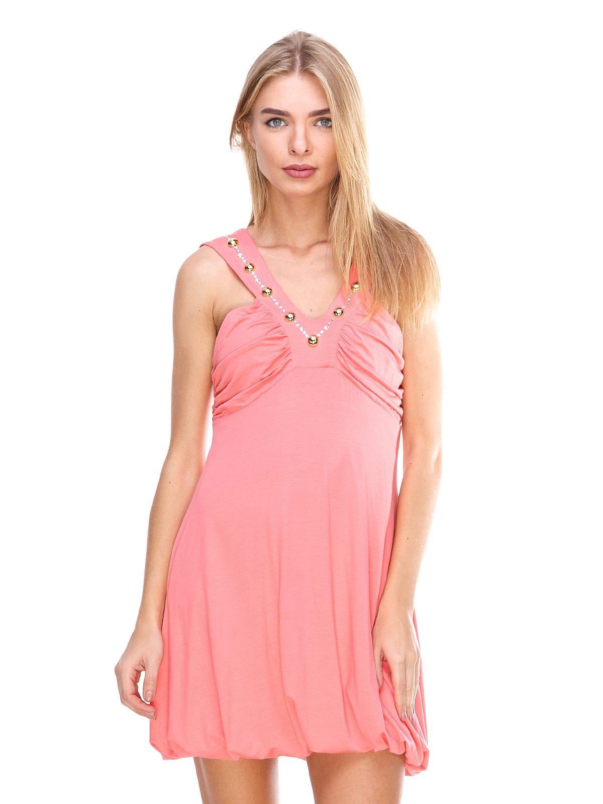 Платье коралловое   2638536