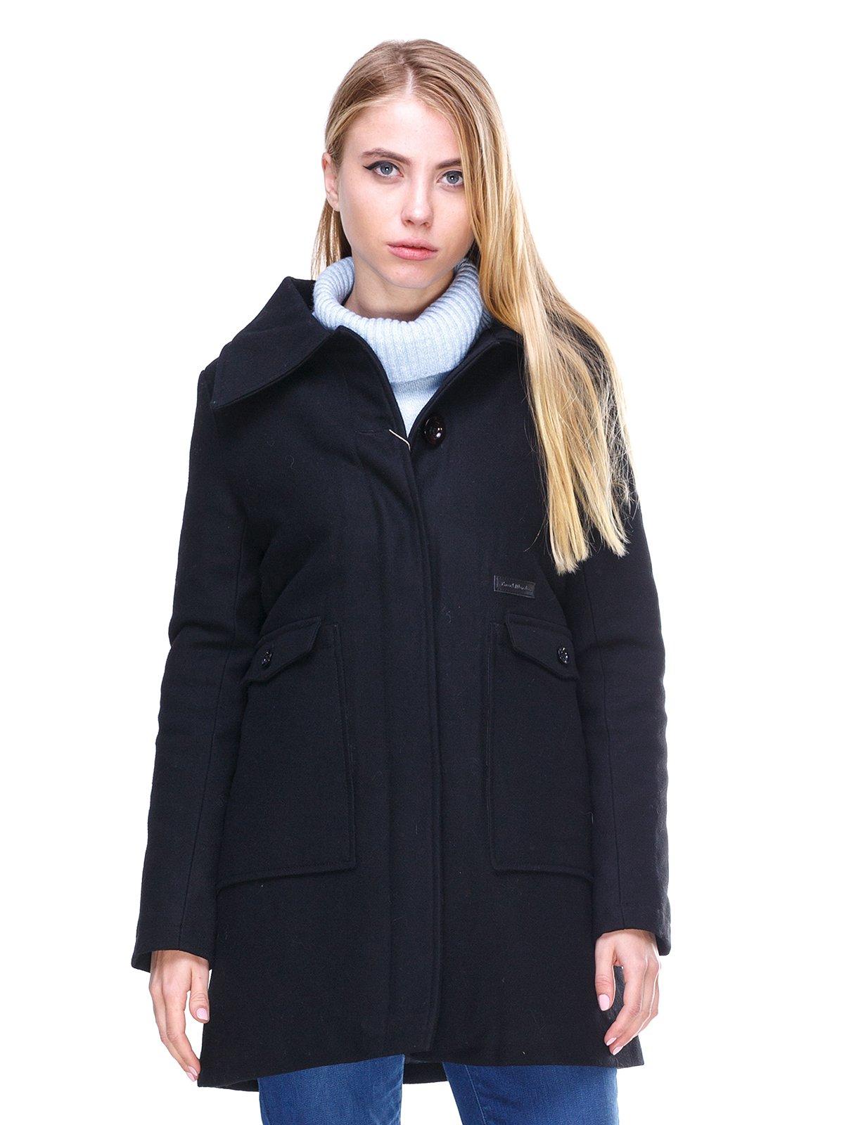 Пальто черное | 2666404
