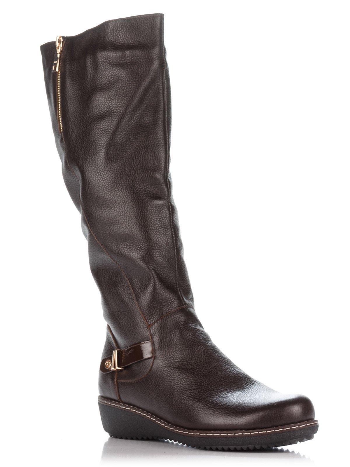 Сапоги коричневые | 2671632