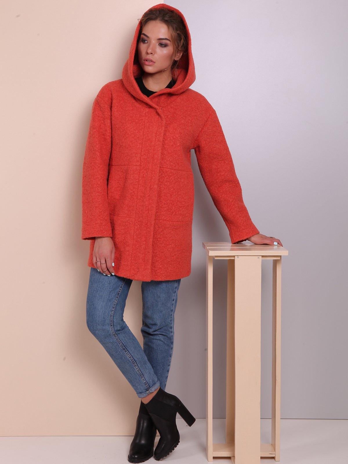 Пальто теракотового кольору | 2618061 | фото 2