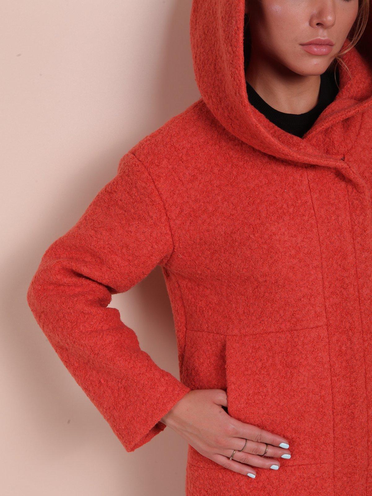 Пальто теракотового кольору | 2618061 | фото 3