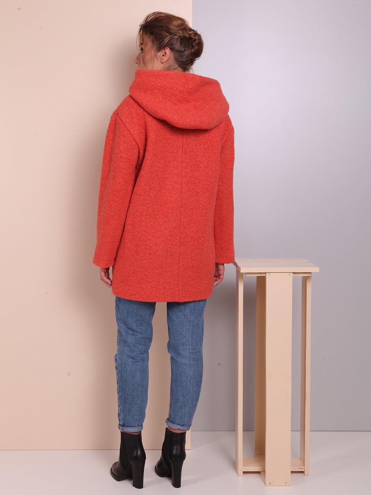 Пальто теракотового кольору | 2618061 | фото 4