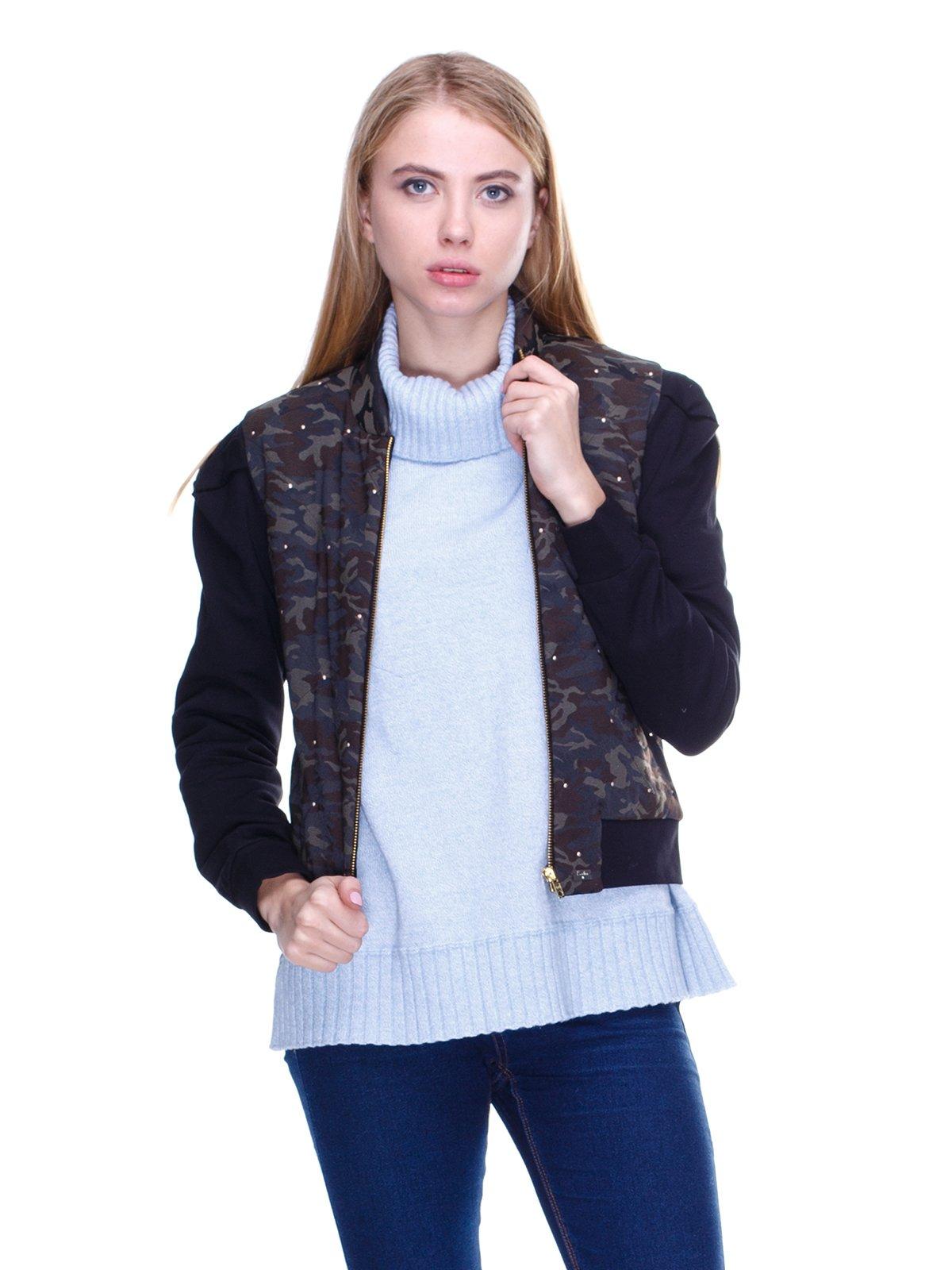 Куртка камуфляжной расцветки | 2658631