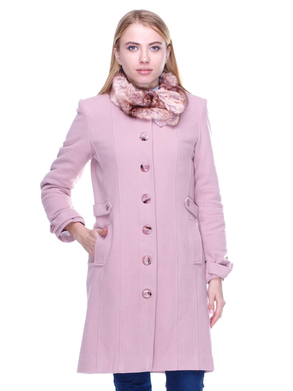 Пальто рожеве | 2658615