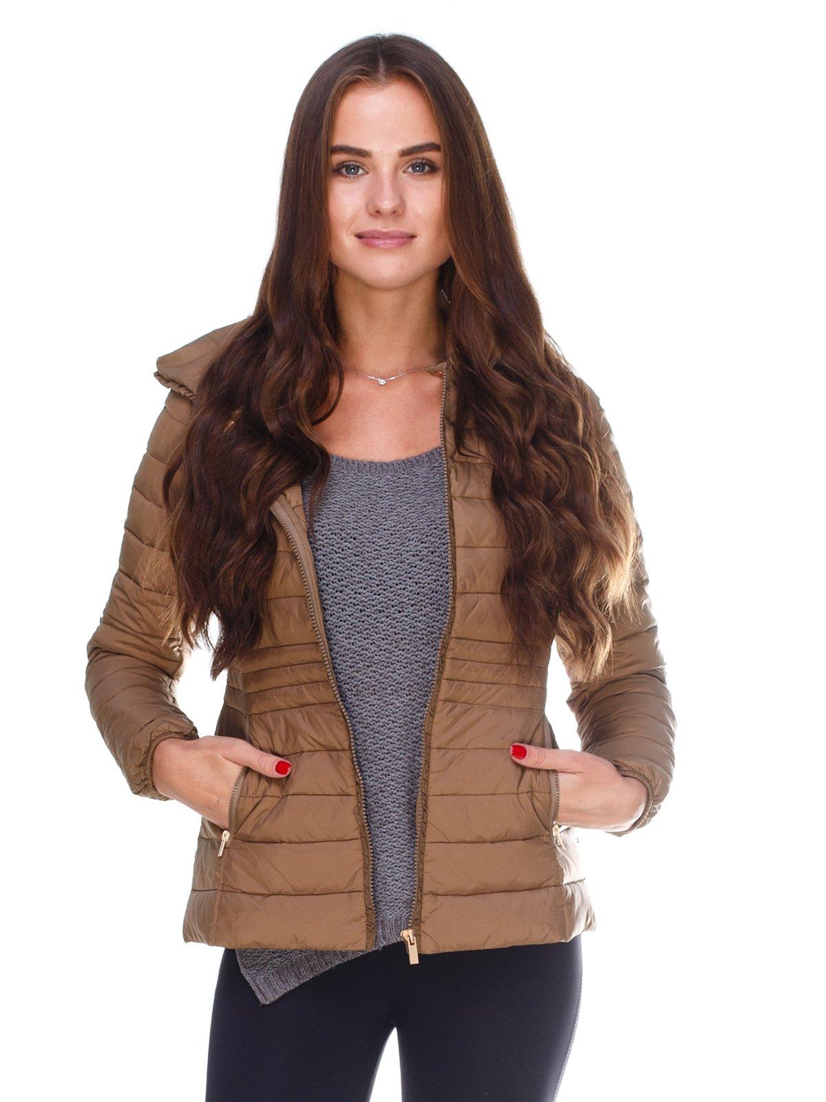 Куртка коричнева | 2658645