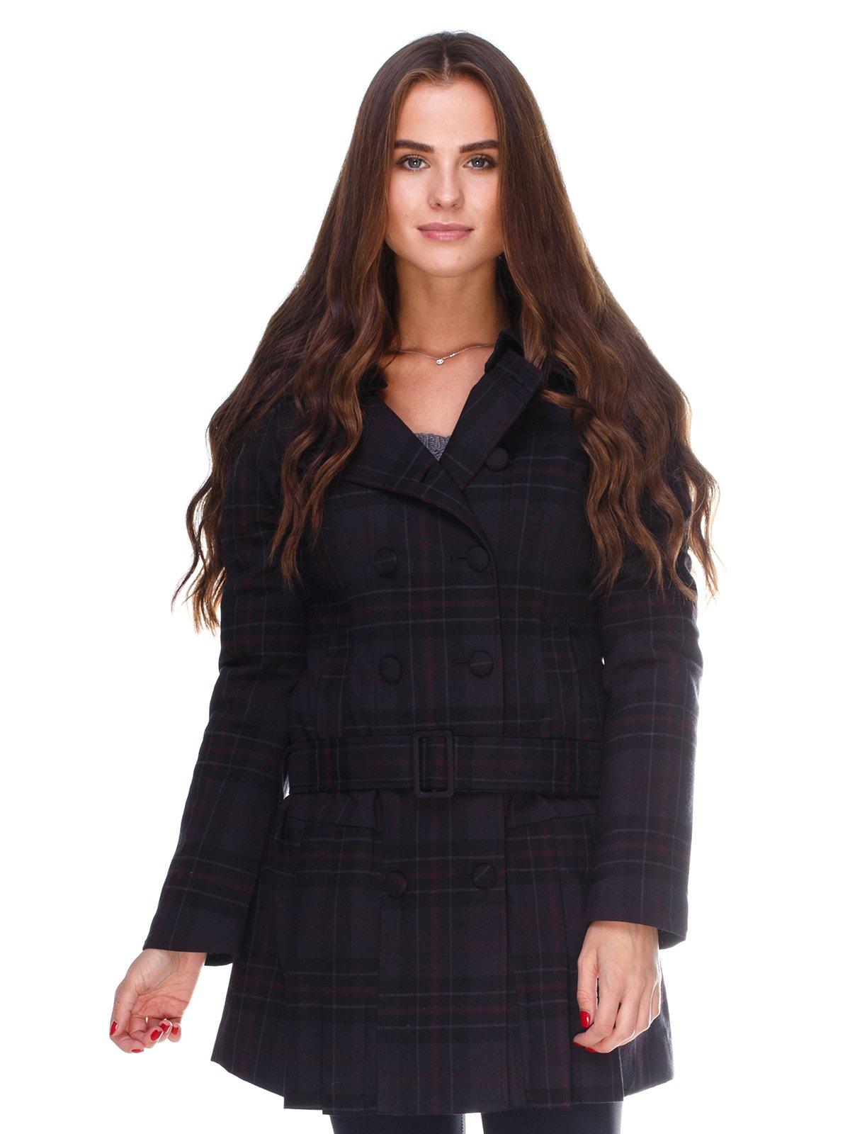 Пальто клетчатое | 2658598