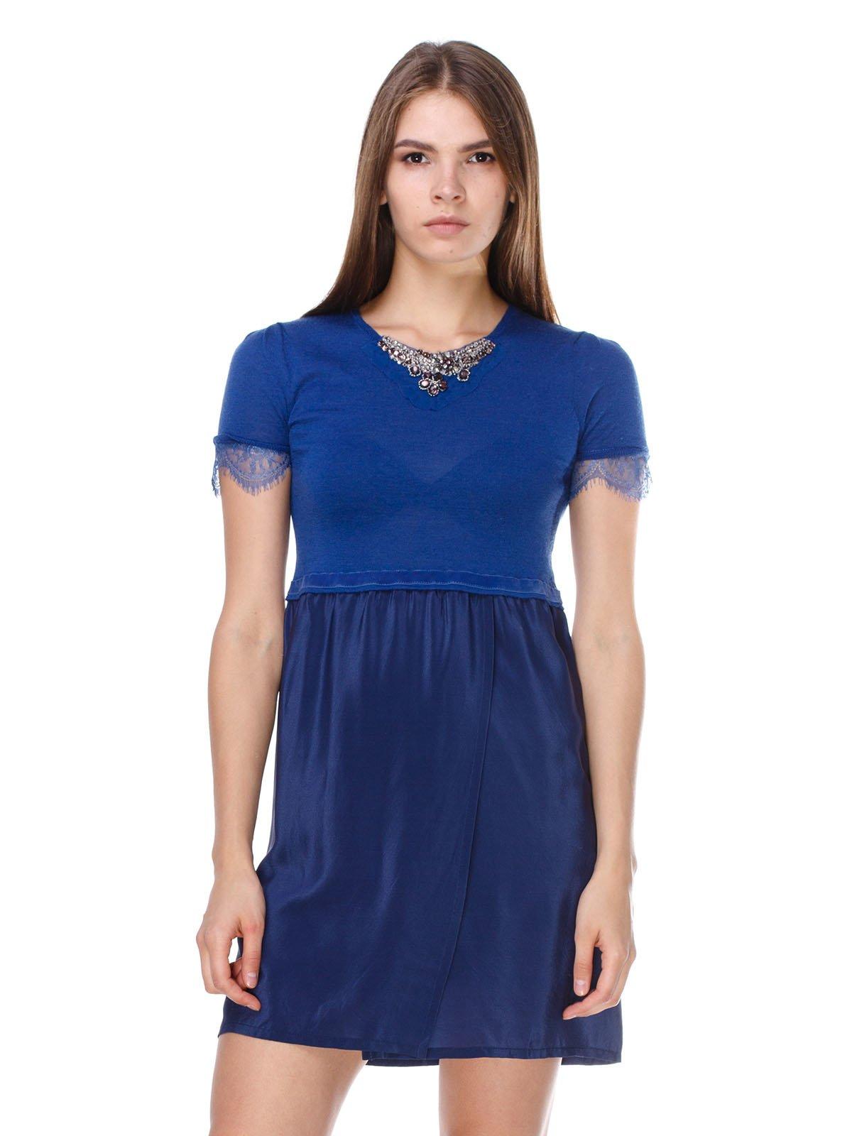 Платье синее | 2659904
