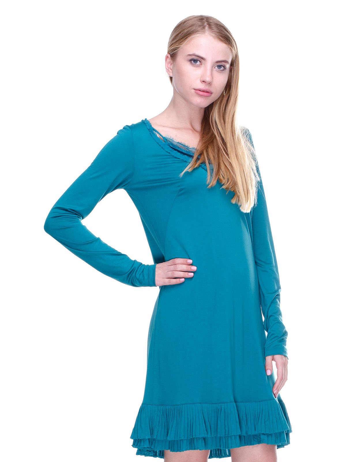 Платье бирюзовое   2660029