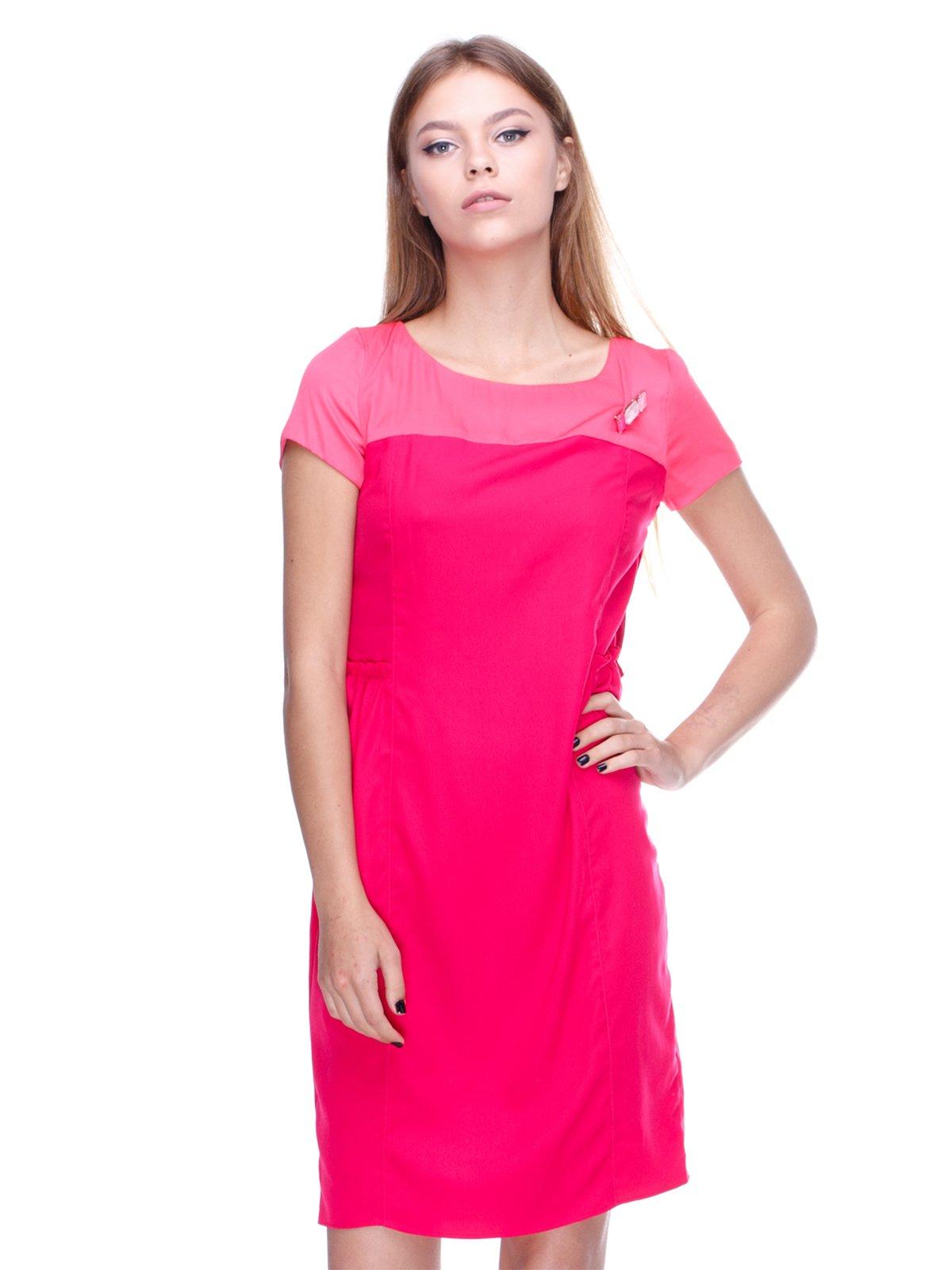 Платье кораллового цвета | 2659993