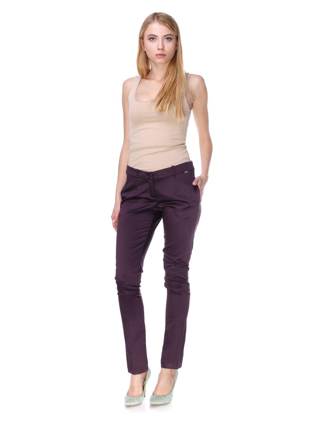 Штани фіолетові | 2659989