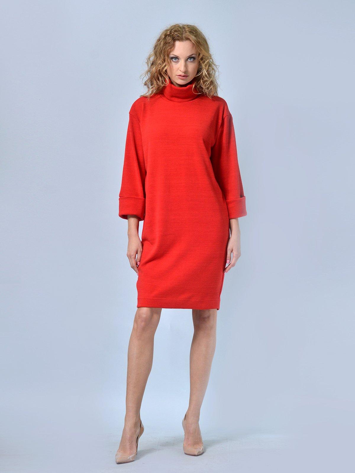 Платье красное | 2678961 | фото 4